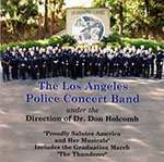 The Los Angeles Police Concert Band CD